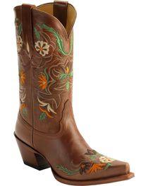 Tony Lama 100% Vaquero Khloe Embroidered Western Boots, , hi-res
