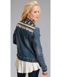 Roper Women's Aztec Yoke Denim Jacket, , hi-res