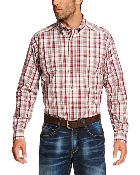 Ariat Men's Multi Salton Long Sleeve Shirt - Big and Tall, Multi, hi-res