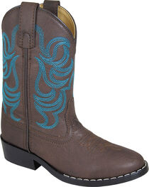 Smoky Mountain Youth Boys' Monterey Western Boot - Round Toe, , hi-res