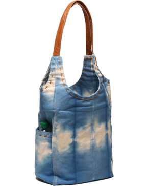 ále by Alessandra Women's Calistoga Tote Bag , Blue, hi-res