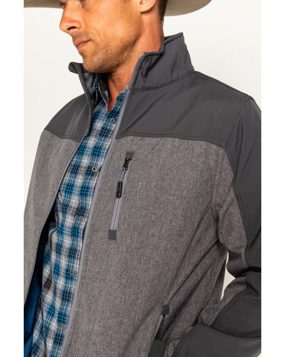 Cody James Men's Flannel Lined Softshell Jacket - Big & Tall, Grey, hi-res
