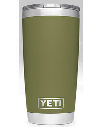Yeti Olive Green 20oz Sliding Lid Rambler , , hi-res