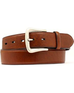 Nocona Basic Leather Belt - Big, Brown, hi-res