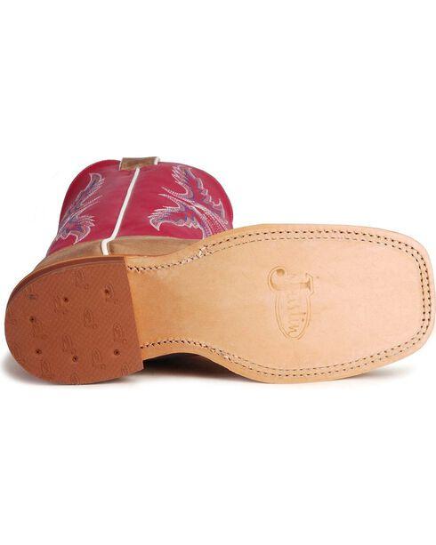 Justin Women's Bent Rail Western Boots, Tan, hi-res