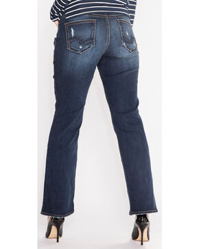Silver Women's Suki Jeans - Boot Cut - Plus Size, Indigo, hi-res