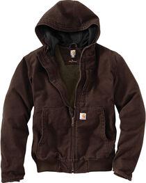 Carhartt Men's Dark Brown Full Swing Armstrong Active Jacket , , hi-res