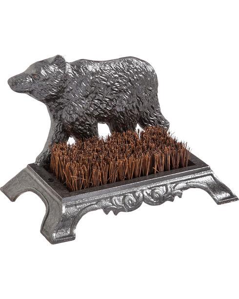 Evergreen Steel Bear Boot Brush , Steel, hi-res