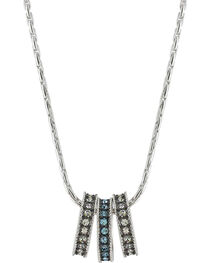 Montana Silversmiths Women's Once In A Blue Moon Necklace , , hi-res