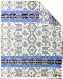Pendleton Silver Bark Pattern Blanket, Grey, hi-res