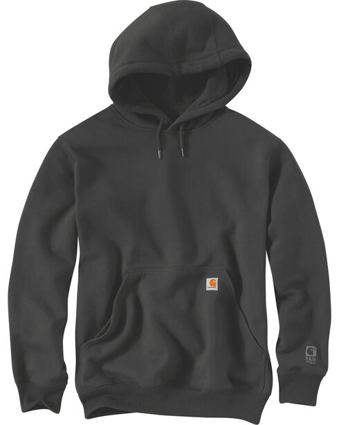 Carhartt Rain Defender Paxton Heavyweight Hooded Sweatshirt - Big & Tall, Bark, hi-res
