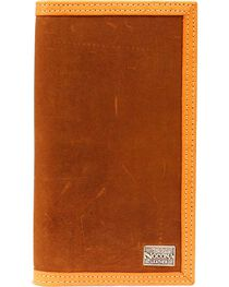 Nocona Belt Co. Men's Rodeo Wallet and Checkbook Cover, , hi-res