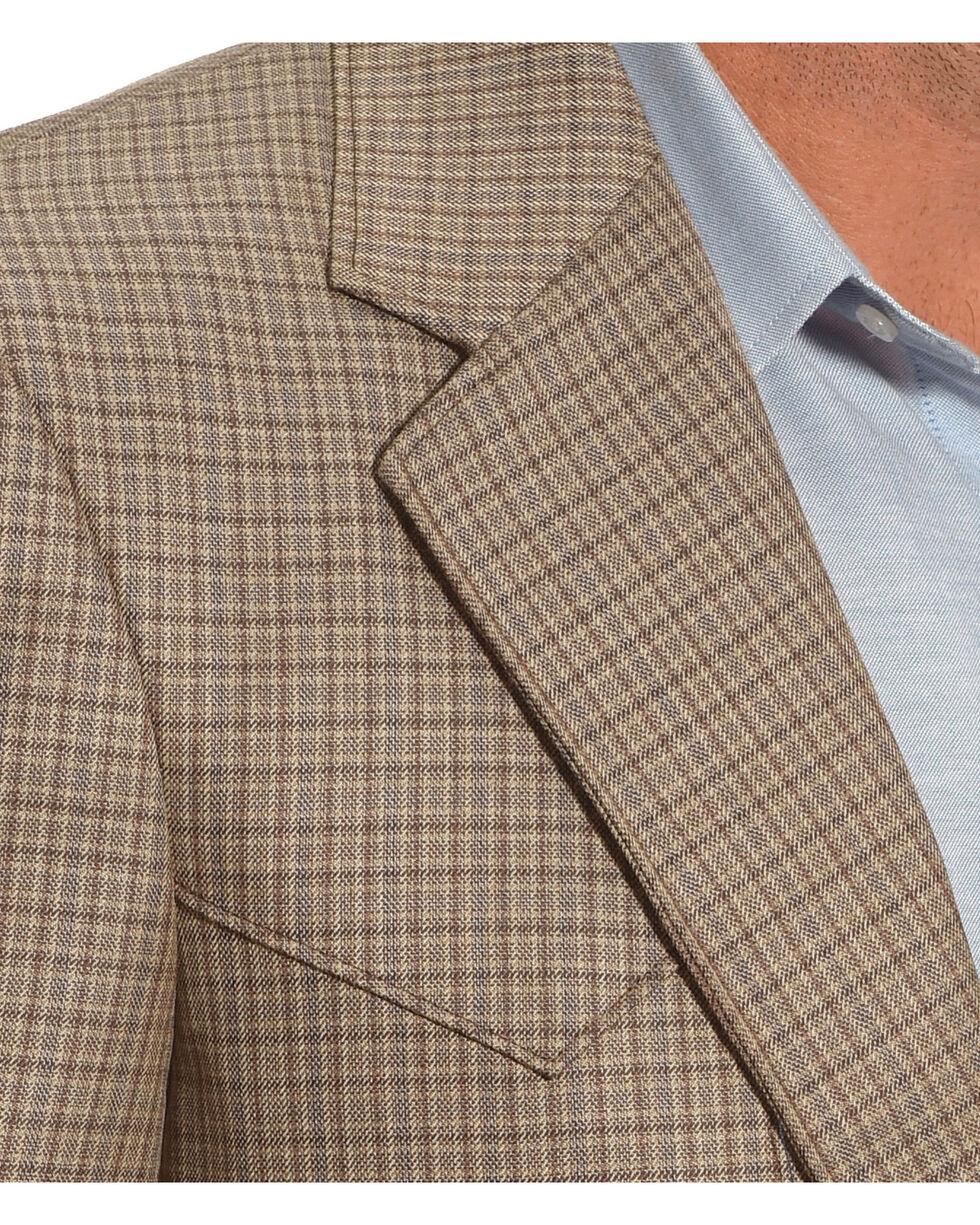 Circle S Plano Sport Coat - Big & Tall, Taupe, hi-res