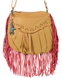 Way West Women's Hannah Fringe Crossbody Bag, , hi-res