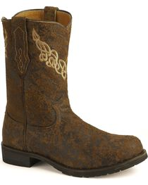Justin Men's Bent Rail Boots, , hi-res