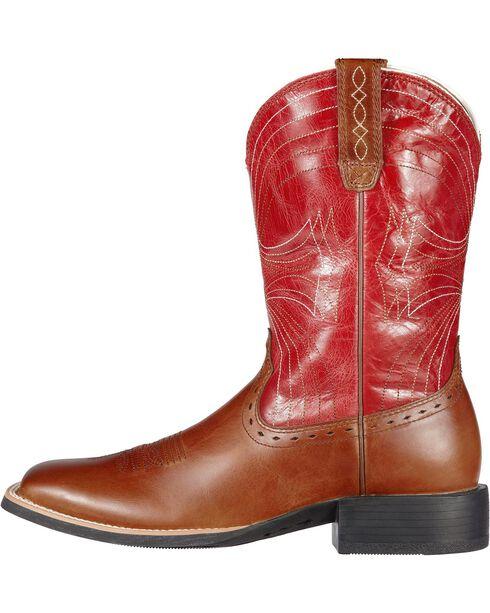 Ariat Men's Sport Western Boots, Cedar, hi-res