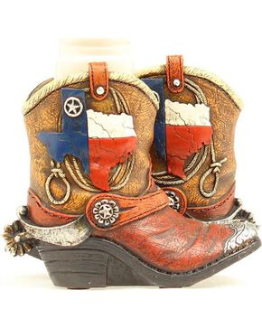 Western Moments Texas Boots Salt and Pepper Shaker Set, Multi, hi-res