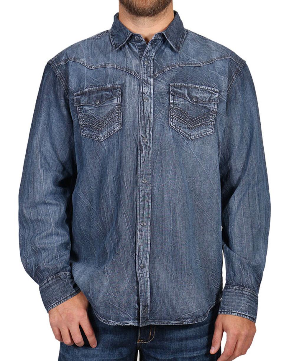 Moonshine Spirit® Men's Black Magic Long Sleeve Shirt, , hi-res