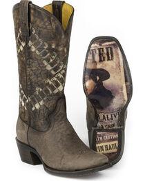 Tin Haul Men's Bullet Western Boots, , hi-res