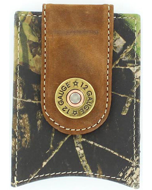 Nocona Men's Magnetic 12 Gauge ID Case, Camouflage, hi-res