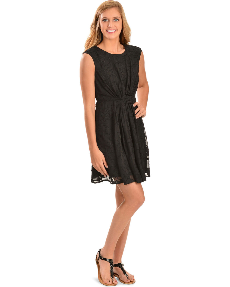Black Swan Harper Dress, Black, hi-res