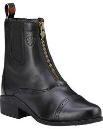 Ariat Women's Heritage III Zip Paddock Boots, , hi-res