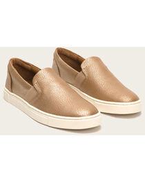 Frye Women's Gold Ivy Slip On Shoes , , hi-res