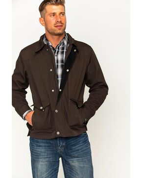 Hooey Men's Brown Leo Jacket , Brown, hi-res
