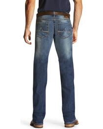 Ariat Men's Blue M7 Cooper Tek Stretch Phoenix Jeans - Boot Cut , , hi-res