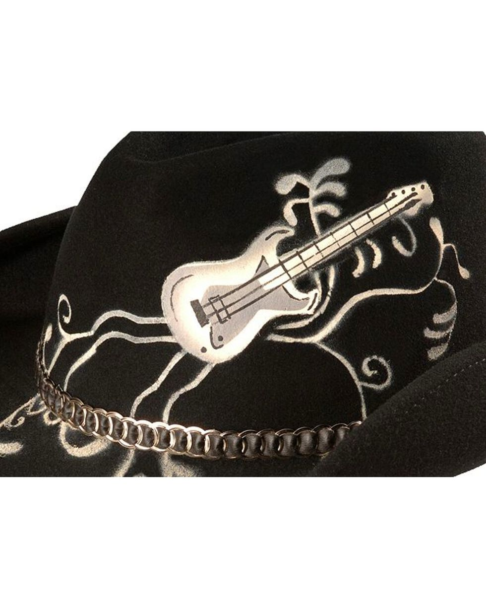 Bullhide Women's Rock 'N Roll Legend Wool Hat, Black, hi-res