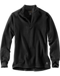 Carhartt Men's Black Base Force Extremes Super-Cold Weather Pullover , , hi-res