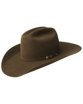 Bailey Men's Gage 10X Fur Felt Cowboy Hat, Brown, hi-res