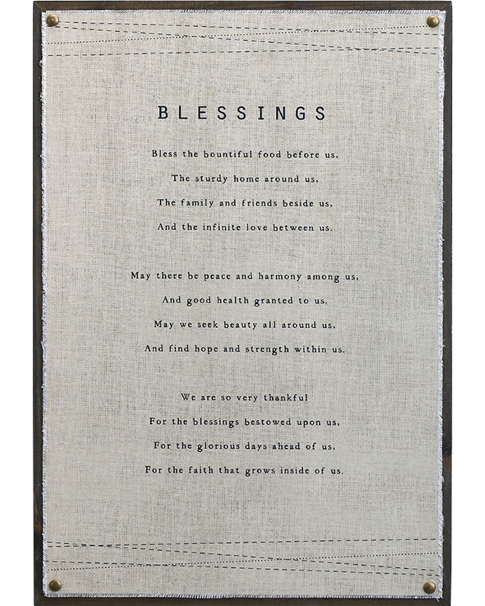 Demdaco Blessings Wall Art , Beige/khaki, hi-res