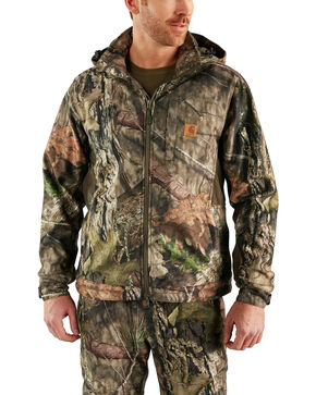 Carhartt Men's Camo Buckfield Jacket - Big & Tall , Camouflage, hi-res