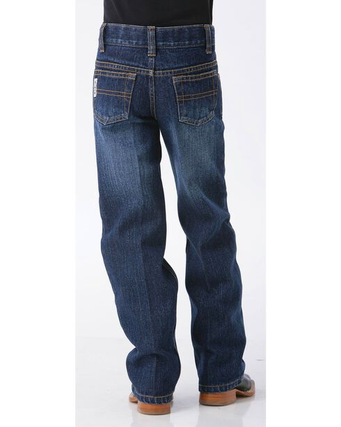 Cinch Boys' White Label Demin Straight Leg Jeans - Slim-8-18, Denim, hi-res