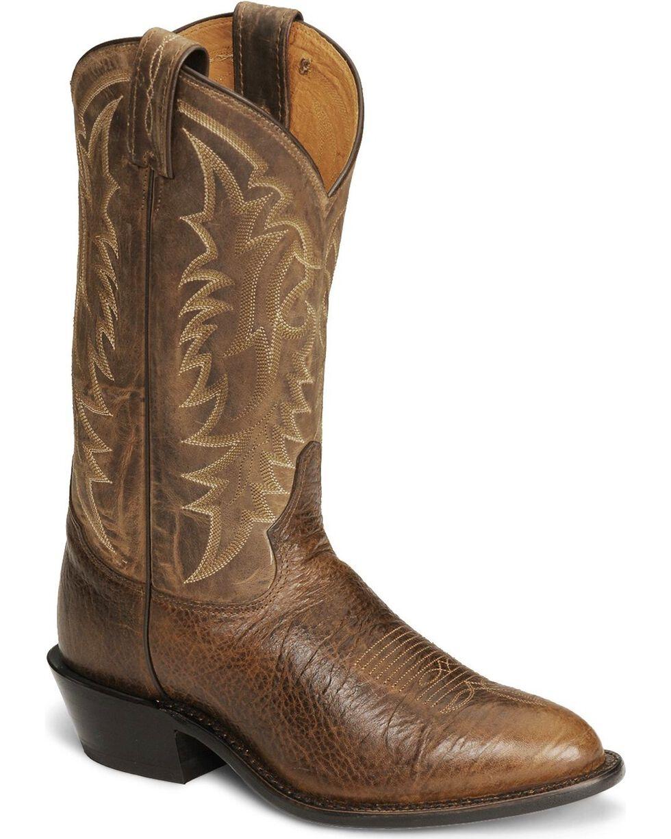 Tony Lama Men's Americana Signature Conquistador Western Boots, Cognac, hi-res
