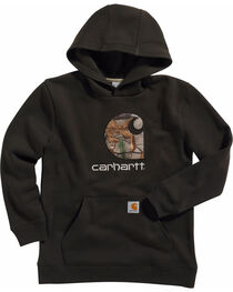 Carhartt Boys' Big Camo C Sweatshirt, , hi-res