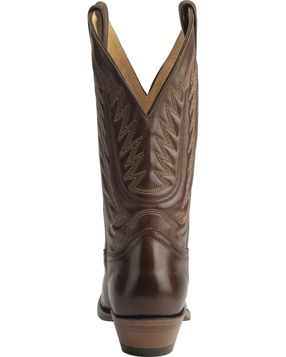 """Boulet Men's 13"""" Western Dress Toe Cowboy Boots, Tan, hi-res"""