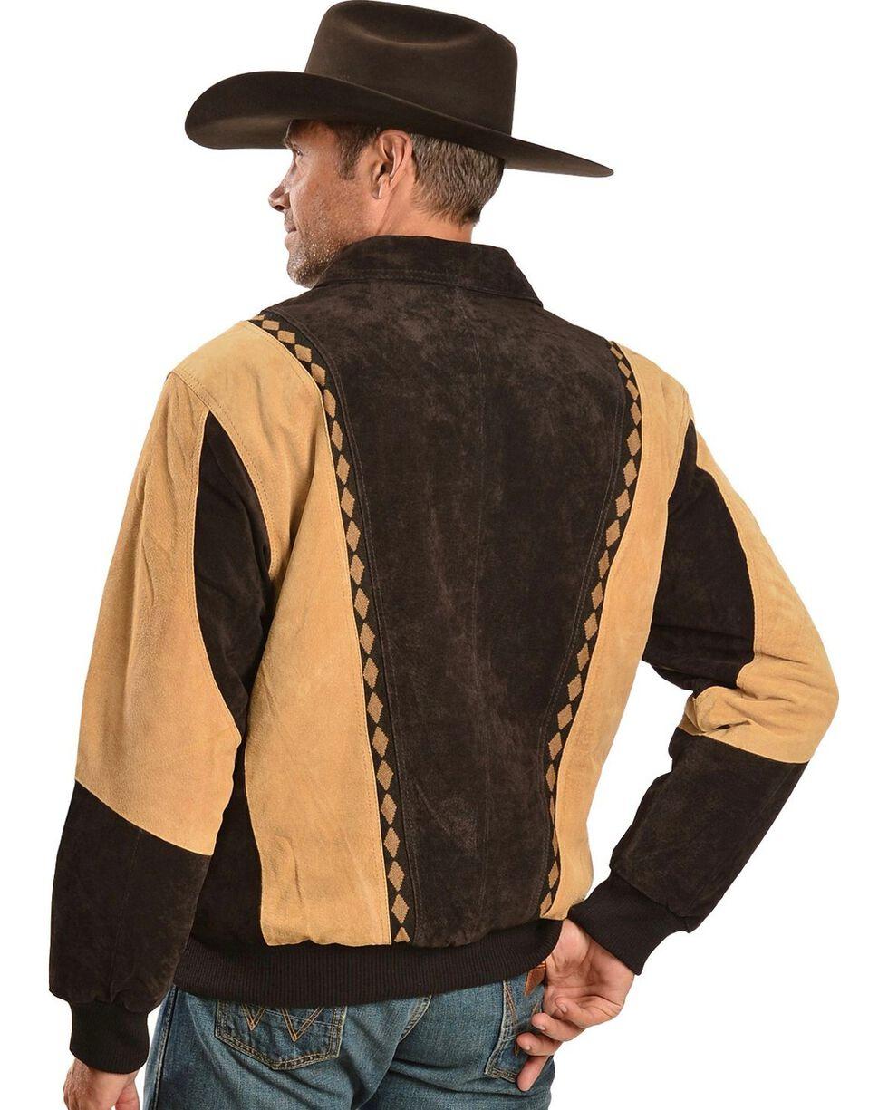 Vintage Leather Men's Arena Jacket, Brown, hi-res