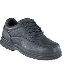 Rockport Works World Tour Casual Oxford Work Shoes - Steel Toe, , hi-res