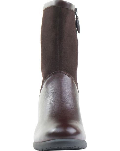 Eastland Women's Brown Kiera Boots, Brown, hi-res