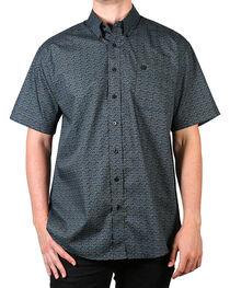 Cinch Men's Paisley Short Sleeve Shirt, , hi-res