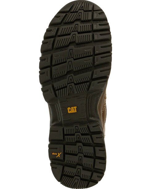 CAT Women's Veneer Waterproof Composite Toe Work Boots, Brown, hi-res