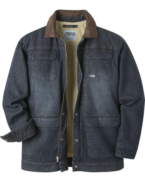 Mountain Khakis Men's Navy Ranch Shearling Jacket, , hi-res