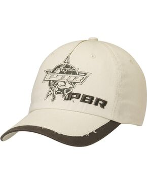 PBR Logo Screen Print Casual Cap, Tan, hi-res