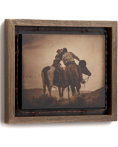 Big Sky Carvers Always Yours Barnwood Shadow Box, No Color, hi-res