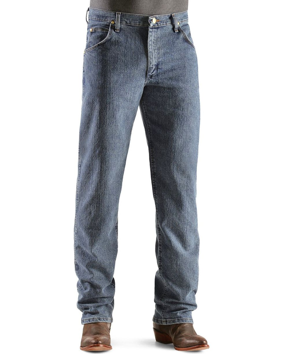 Wrangler Men's Premium Performance Advanced Comfort Jeans, Dark Denim, hi-res
