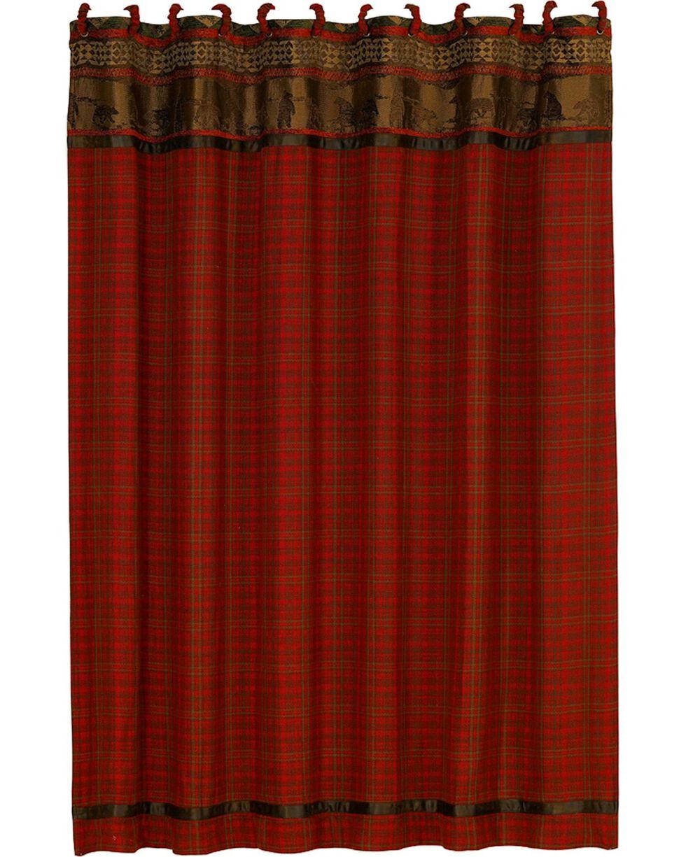 HiEnd Accents Cascade Lodge Shower Curtain, Multi, hi-res