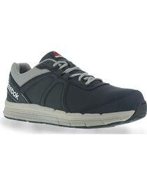 Reebok Men's Leather Athletic Oxfords - Steel Toe, , hi-res