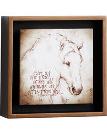 Big Sky Carvers Horse Grace Over Us Shadow Box , , hi-res